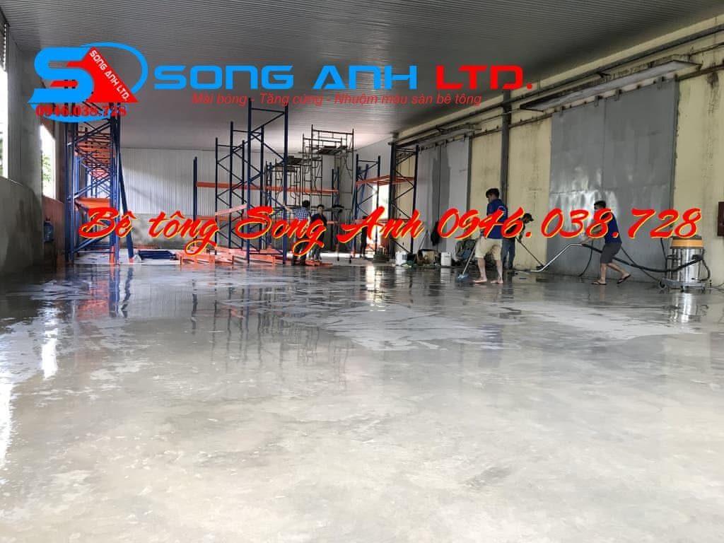 sàn bê tông màu - Dịch vụ SONG ANH 0946.038.728 Đà Nẵng Huế Công ty bê tông mài Song Anh Đà Nẵng Phan thị Mỹ