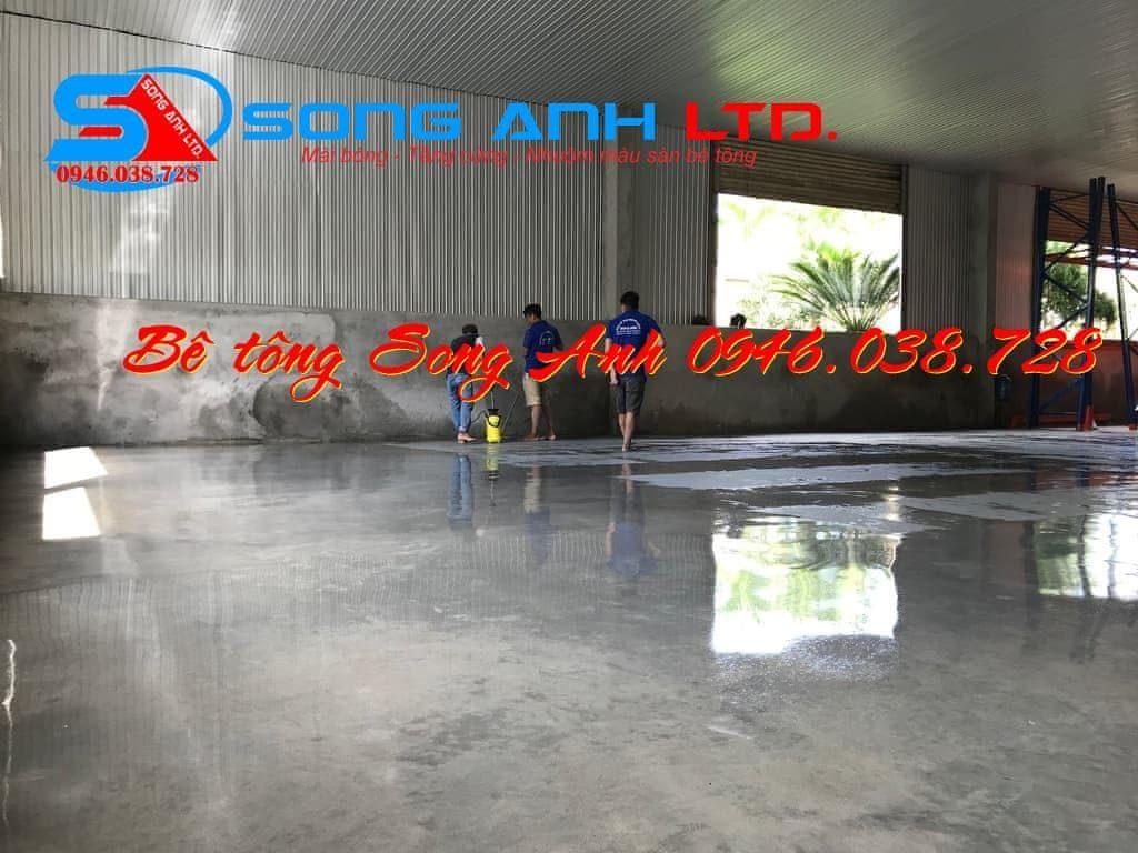 Sơn phủ màu sàn bê tông - Dịch vụ SONG ANH 0946.038.728 Đà Nẵng Huế Công ty bê tông mài Song Anh Đà Nẵng anhmybds