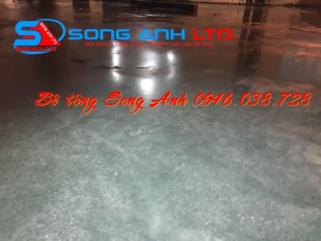 Hóa chất chống thấm tăng cứng phủ bóng sàn bê tông - Công ty SONG ANH 0946.038.728 Đà Nẵng Huế Công ty bê tông mài Song Anh Đà Nẵng anhmybds