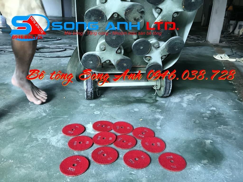 Láng nền đánh màu sàn bê tông - Dịch vụ SONG ANH 0946.038.728 Đà Nẵng Huế Công ty bê tông mài Song Anh Đà Nẵng anhmybds