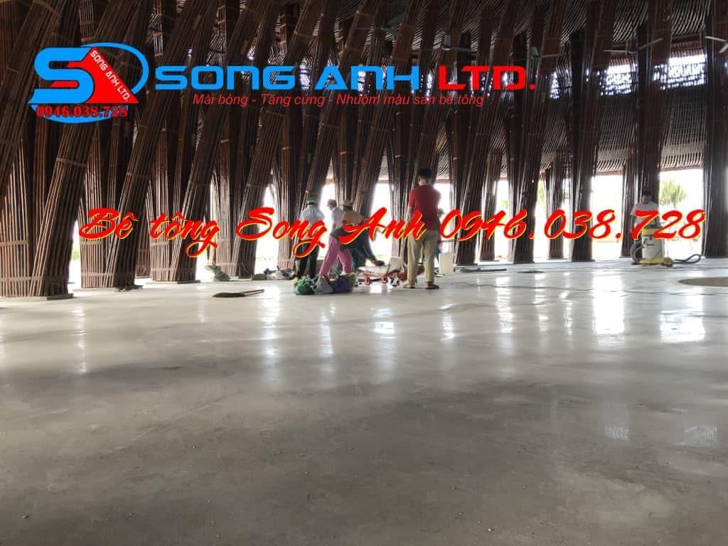Bảo dưỡng sàn bê tông đánh bóng - Công ty SONG ANH 0946.038.728 Đà Nẵng Huế Công ty bê tông Song Anh anhmybds