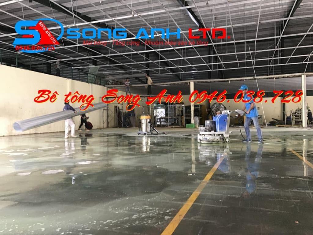 dịch vụ mài sàn bê tông - Công ty SONG ANH 0946.038.728 Đà Nẵng Huế Công ty bê tông Song Anh anhmybds