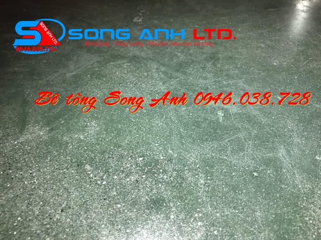 Sơn phủ màu sàn bê tông - Dịch vụ SONG ANH 0946.038.728 Đà Nẵng Huế Đánh bóng sàn bê tông Song Anh Đà Nẵng Phan thị Mỹ