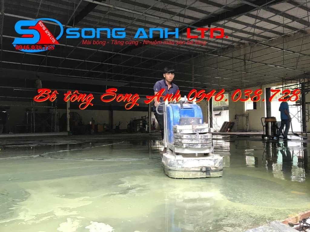 đánh bóng sàn bê tông - Dịch vụ SONG ANH 0946.038.728 Đà Nẵng Huế Công ty bê tông mài Song Anh Đà Nẵng anhmybds