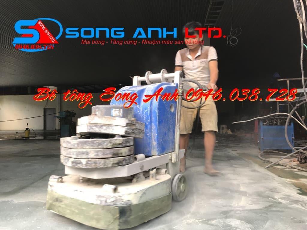 Dịch vụ thi công sàn bê tông - Dịch vụ SONG ANH 0946.038.728 Đà Nẵng Huế Công ty bê tông Song Anh