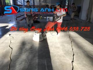 Đánh bóng sàn bê tông hội an