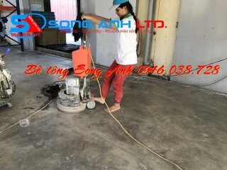 Dịch vụ mài sàn bê tông, đánh bóng sàn bê tông Đà nẵng