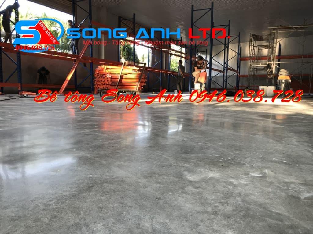 Mài sàn bê tông đá mài Huế Đà Nẵng