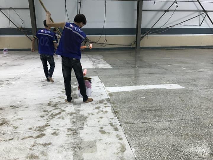 sơn epoxy sàn nhà xưởng đà nẵng BTMSONGANH betongdanang.info