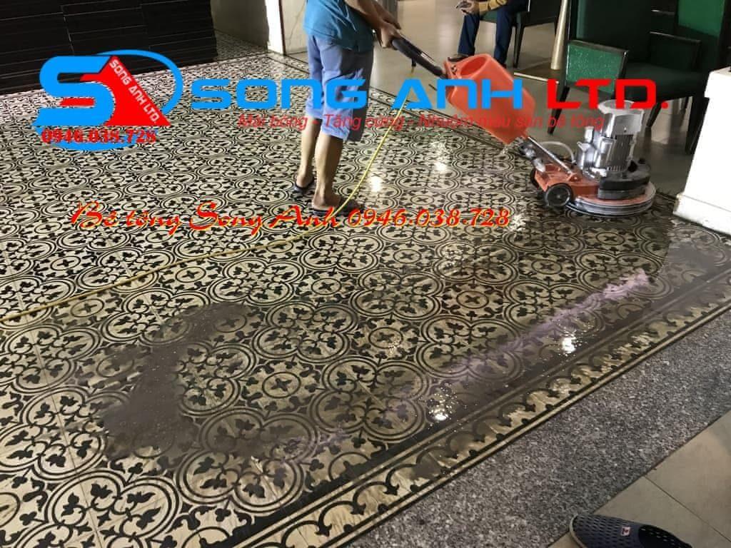 Đánh bóng sàn gạch ceramic tại Đà Nẵng