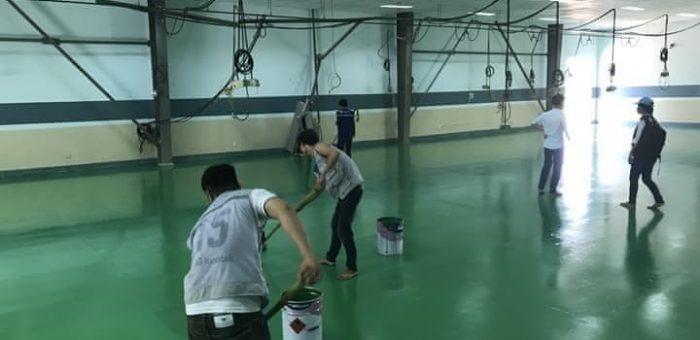 sơn epoxy nền nhà xưởng đà nẵng BTMSONGANH betongdanang.info