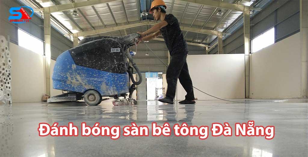 Đánh bóng sàn bê tông Đà Nẵng