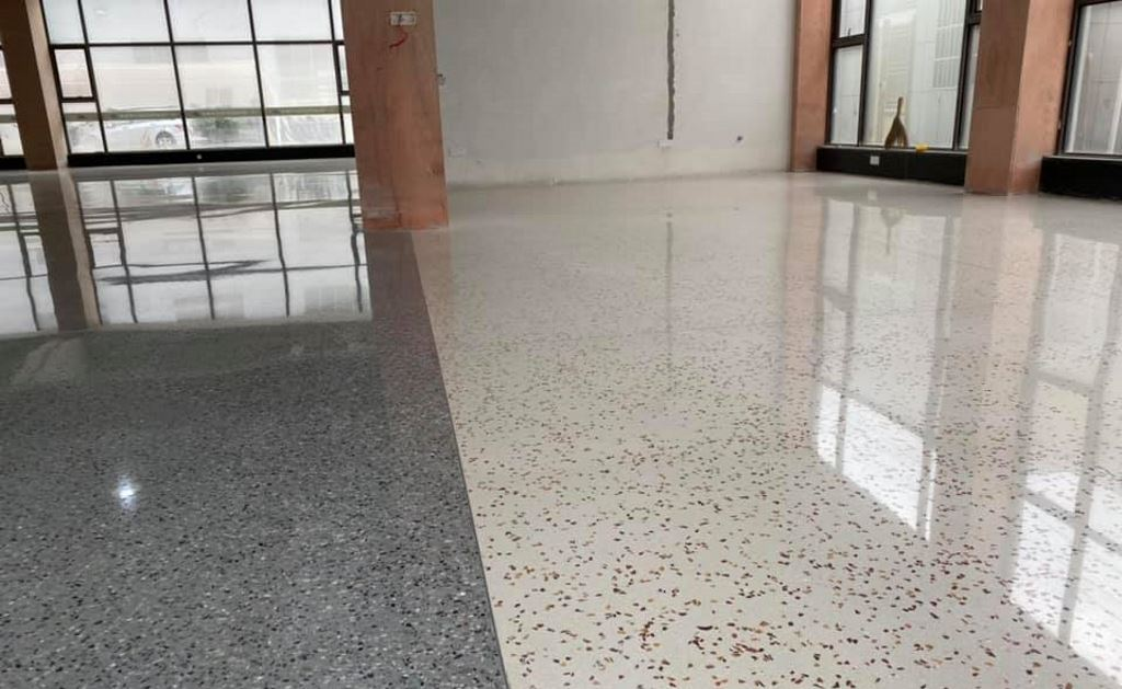 Đánh bóng sàn bê tông Quy Nhơn - Bình Định