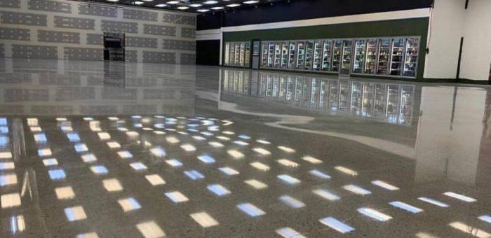Mài đánh bóng sàn bê tông Quy Nhơn - Bình Định