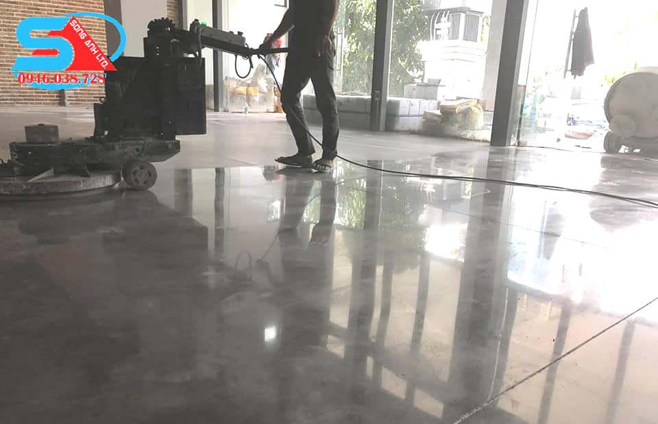 mài sàn bê tông Hội An