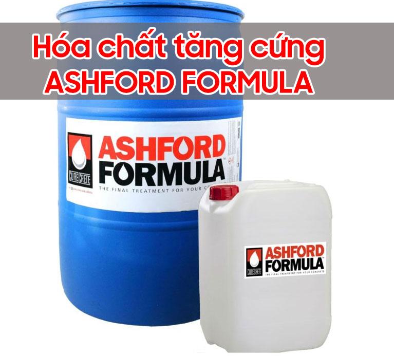 hóa chất tăng cứng ashford formula